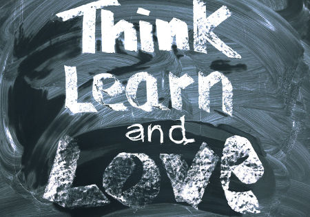 think learn love